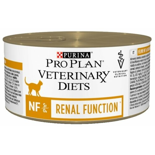 Корм для кошек Pro Plan Veterinary Diets Feline NF Renal Function canned (0.195 кг) 1 шт. pro plan delicate adult canned promo 4 1 chicken turkey 5 85g