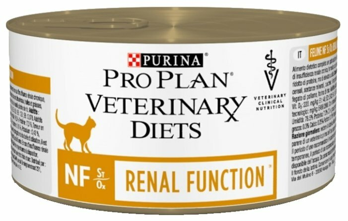 Корм для кошек Pro Plan Veterinary Diets Feline NF Renal Function canned (0.195 кг) 1 шт. — купить по выгодной цене на Яндекс.Маркете