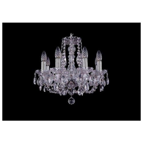 Люстра Bohemia Ivele Crystal 1406 1406/8/141/Ni, E14, 320 Вт подвесная люстра 1406 8 141 pa
