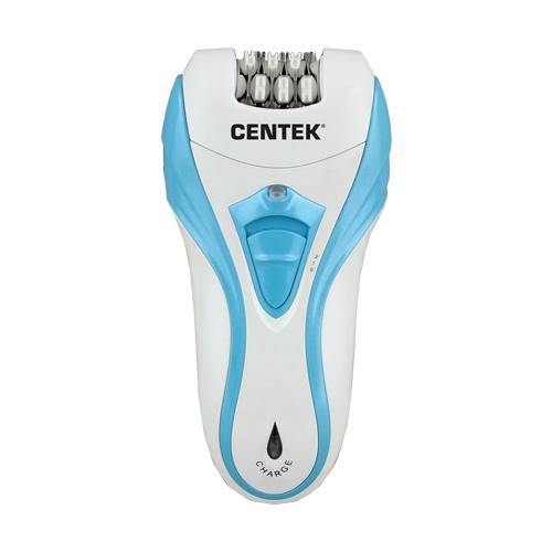 Эпилятор CENTEK CT-2191 белый/голубой