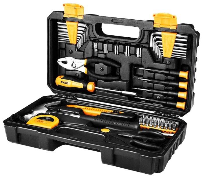 Набор инструментов и оснастки DEKO DKMT62