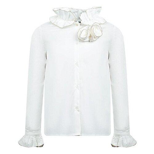 Блузка Abel & Lula размер 110, кремовый