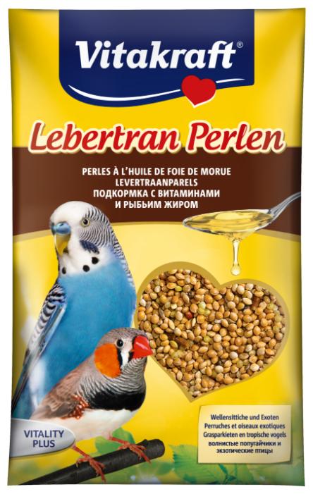 Добавка в корм Vitakraft для волнистых попугаев с витаминами и рыбьим жиром