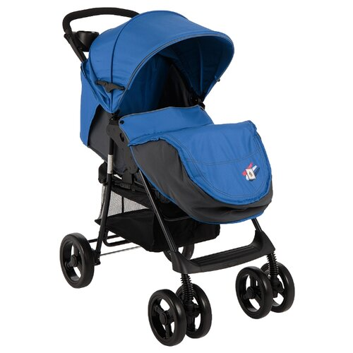 Купить Прогулочная коляска Mobility One E0970 Texas синий/принт флот, Коляски