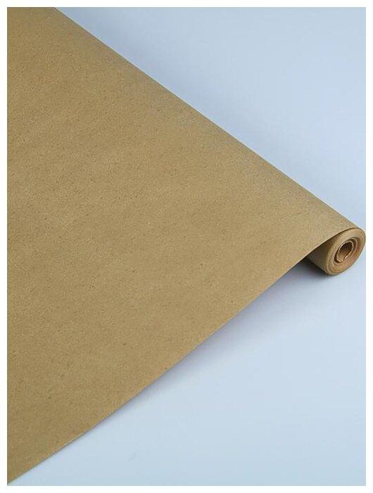 Купить Бумага упаковочная крафт Золотая, 0,7 х 10 м, 70 гр по низкой цене с доставкой из Яндекс.Маркета (бывший Беру)