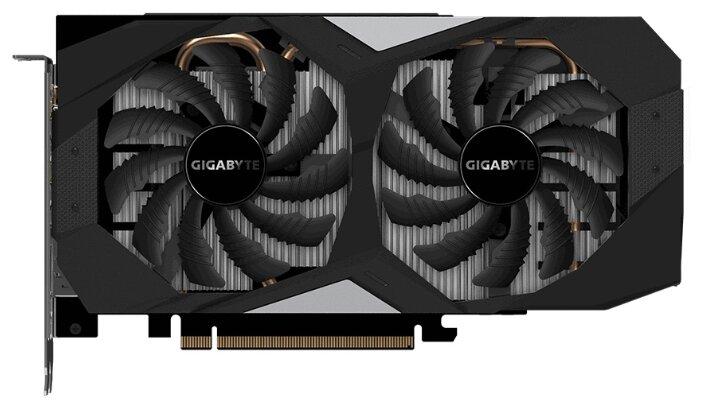 GIGABYTE Видеокарта GIGABYTE GeForce RTX 2060 1755MHz PCI-E 3.0 6144MB 14000MHz 192 bit HDMI HDCP OC