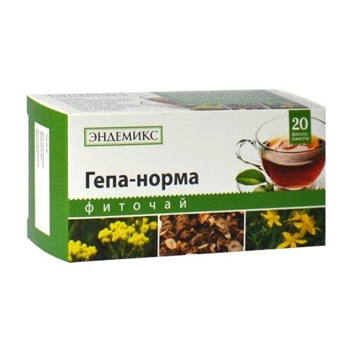 Чай травяной Эндемикс Гепа-норма в пакетиках, 20 шт.