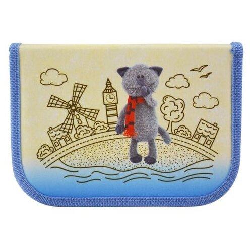 BG Пенал Orange Toys (PCG 2797) голубой/бежевый
