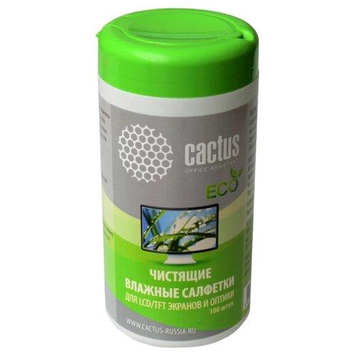Фото - Cactus CS-T1001E влажные салфетки 100 шт. cactus cs t1002 влажные салфетки 100 шт для оргтехники