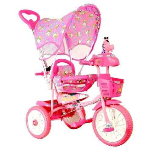 Трехколесный велосипед JAGUAR MS-0737 розовый
