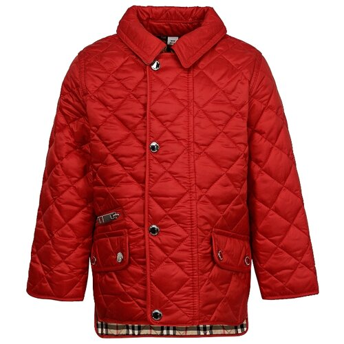 цена Куртка Burberry размер 86, красный онлайн в 2017 году