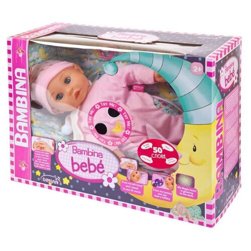 Купить Кукла Dimian Bambina Bebe, 42 см, BD1340RU-M30, Куклы и пупсы