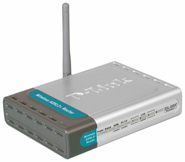 Wi-Fi роутер D-link DSL-G604T