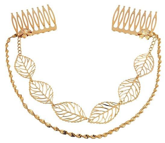 Ободок Magie Accessoires для греческой прически (934793) золотистый
