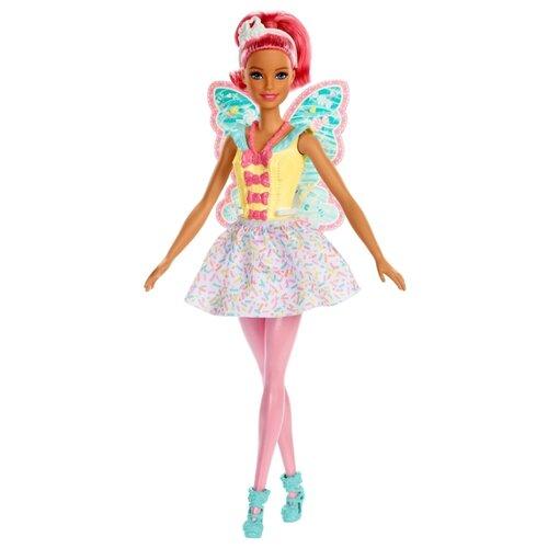 Фото - Кукла Barbie Dreamtopia Фея, 29 см, FXT03 кукла barbie dreamtopia