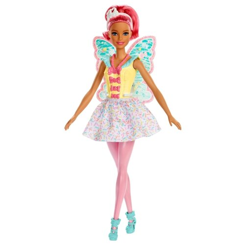 Купить Кукла Barbie Dreamtopia Фея, 29 см, FXT03, Куклы и пупсы