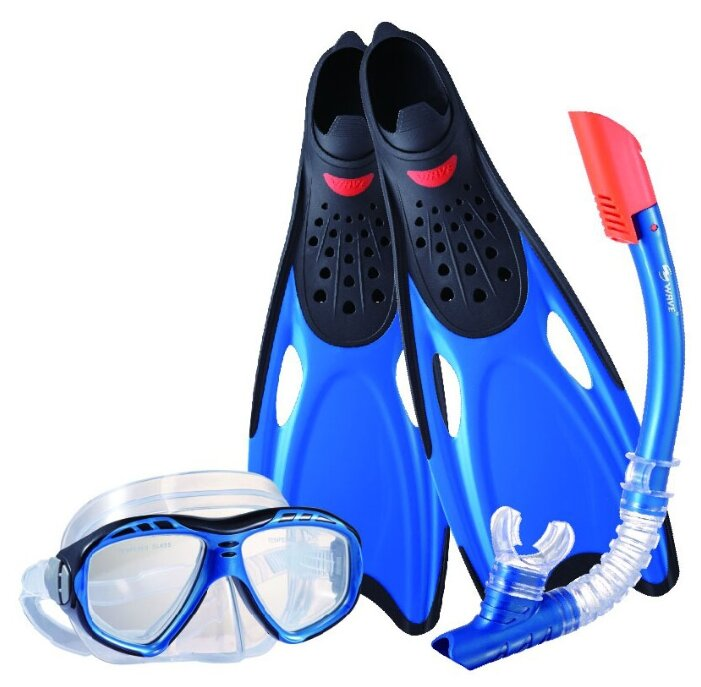 Набор для плавания с ластами Wave MSF-1396S25BF71 размер 40-41