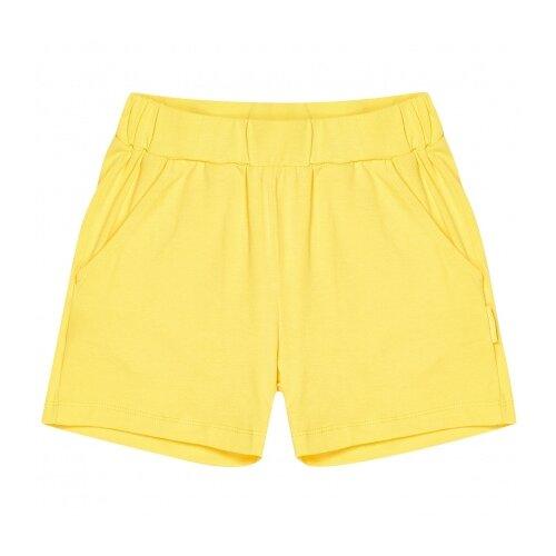 Шорты Kogankids размер 110, желтый