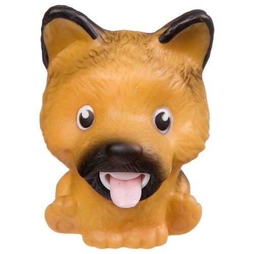 Игрушка-мялка BONDIBON Покажи язык коричневая собака