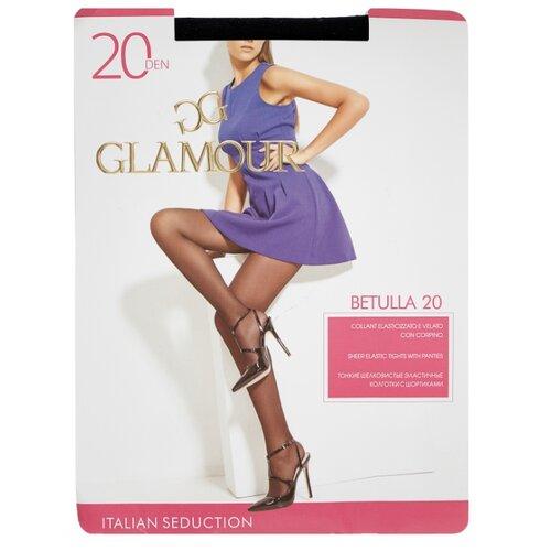 Колготки Glamour Betulla 20 den, размер 3-M, nero (черный) колготки glamour velour 3 70 den черный