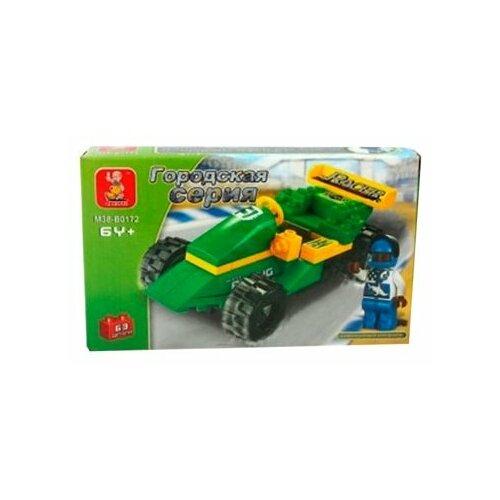 Купить Конструктор SLUBAN Городская серия M38-B0172 Racing Car, Конструкторы