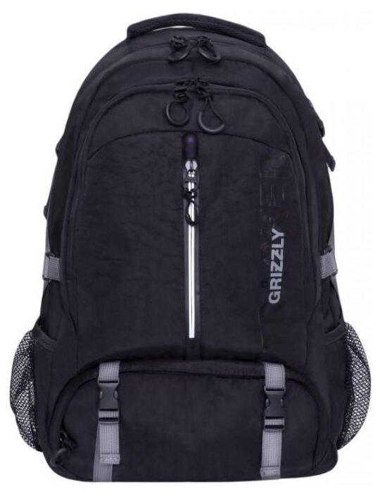 Рюкзак Grizzly RQ-905-1/3 30 (черный) — купить по выгодной цене на Яндекс.Маркете