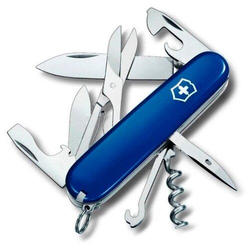 Нож многофункциональный VICTORINOX Climber (14 функций) синий нож многофункциональный victorinox outrider 14 функций синий