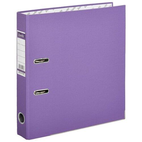Купить Bantex Папка-регистратор Economy Plus A4, бумвинил, 50 мм фиолетовый, Файлы и папки
