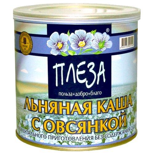 Фото - ПЛЕЗА Каша льняная вкус Натуральный с овсянкой, 400 г наша льняная каша смородиновая 400 г