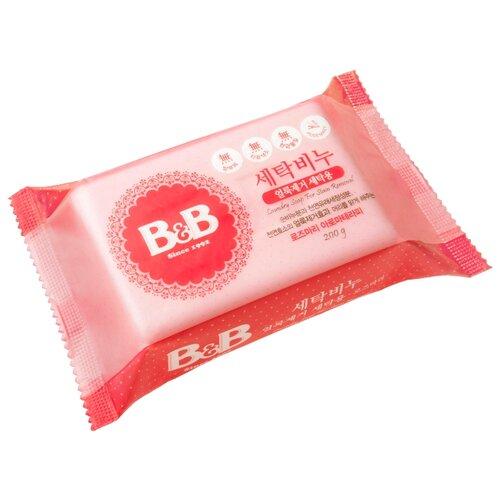 Хозяйственное мыло B&B для удаления пятен с детского белья с розмарином 0.2 кг