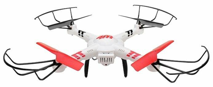 Квадрокоптер WL Toys V686 белый фото 1