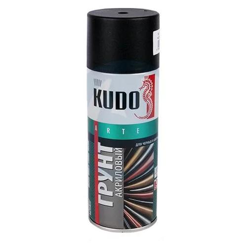 Грунтовка KUDO KU-210x акриловая универсальная для черных и цветных металлов (0.52 л) черный