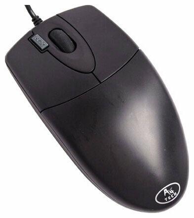 Мышь A4Tech OP-620D Black USB+PS/2