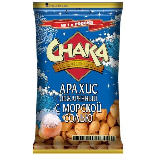 Арахис CHAKA обжаренный с морской солью флоу-пак 80 г