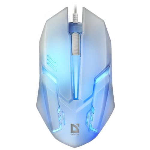 Мышь Defender Cyber MB-560L White USB