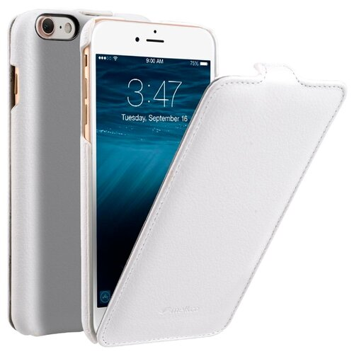 Флип-чехол Melkco Jacka Type для Apple iPhone 7/iPhone 8 белый флип чехол melkco jacka type для apple iphone 7 iphone 8 темно синий