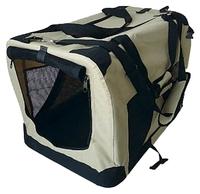 Переноска-домик для кошек и собак GiGwi Pet Travel 75212 91х64х64 см зеленый