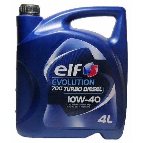 Моторное масло ELF Evolution 700 Turbo Diesel 10W-40 4 л