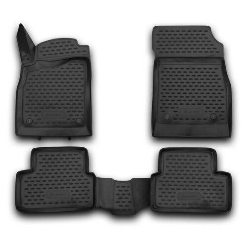 Комплект ковриков ELEMENT NLC.3D.08.13.210k для Chevrolet Cruze 4 шт. черный