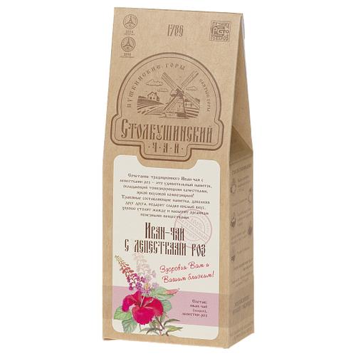 Чай травяной Столбушинский с лепестками роз Иван-чай, 30 г чай травяной столбушинский иван чай с чабрецом и дущицей 30 г