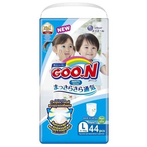 Купить Goo.N трусики L (9-14 кг) 44 шт., Подгузники