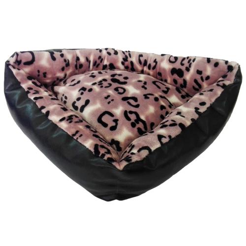 Лежак для собак и кошек LOORI Z1163 45х45х15 см черный