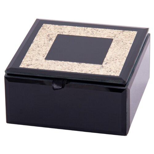 Русские подарки Шкатулка для ювелирных украшений 79217 черный