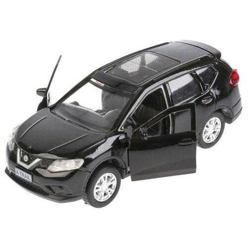 Купить Легковой автомобиль ТЕХНОПАРК Nissan X-Trail (X-TRAIL-SL/BK/GD) 1:36 12 см черный, Машинки и техника