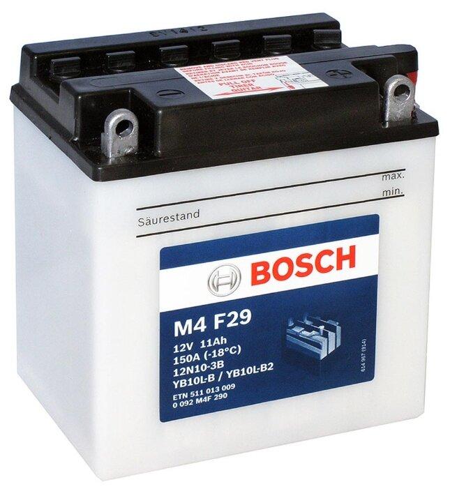 Мото аккумулятор Bosch M4 F29 (0 092 M4F 290)
