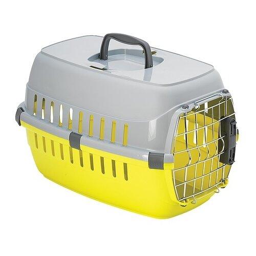 Клиппер-переноска для собак Moderna Road Runner II Spring Lock 56х35х37 см лимонный