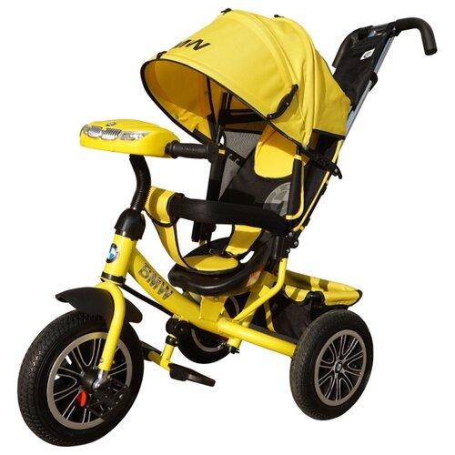 Купить Трехколесный велосипед Shantou City Daxiang Plastic Toys BMW-M-N1210 желтый, Трехколесные велосипеды
