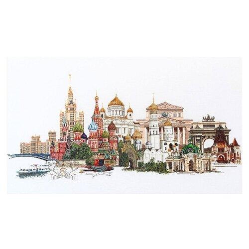 Thea Gouverneur Набор для вышивания Москва 79 х 50 см (510A) thea gouverneur набор для вышивания санкт петербург 50 х 79 см 430а