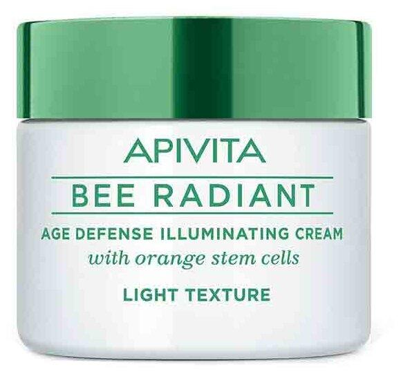 Крем Apivita Bee Radiant age defence illuminating