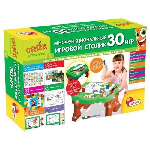 Набор развивающих игр Lisciani Giochi Многофункциональный игровой столик 30 игр R63697Обучающие материалы и авторские методики<br>